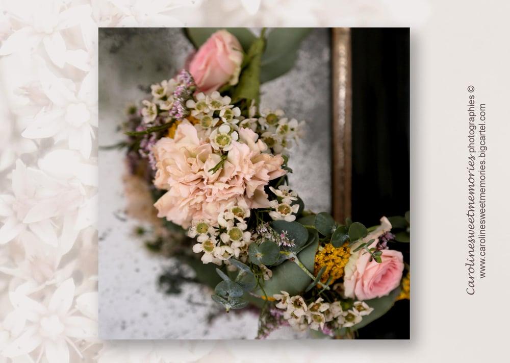 Image of La couronne de fleurs | TIRAGE PHOTO