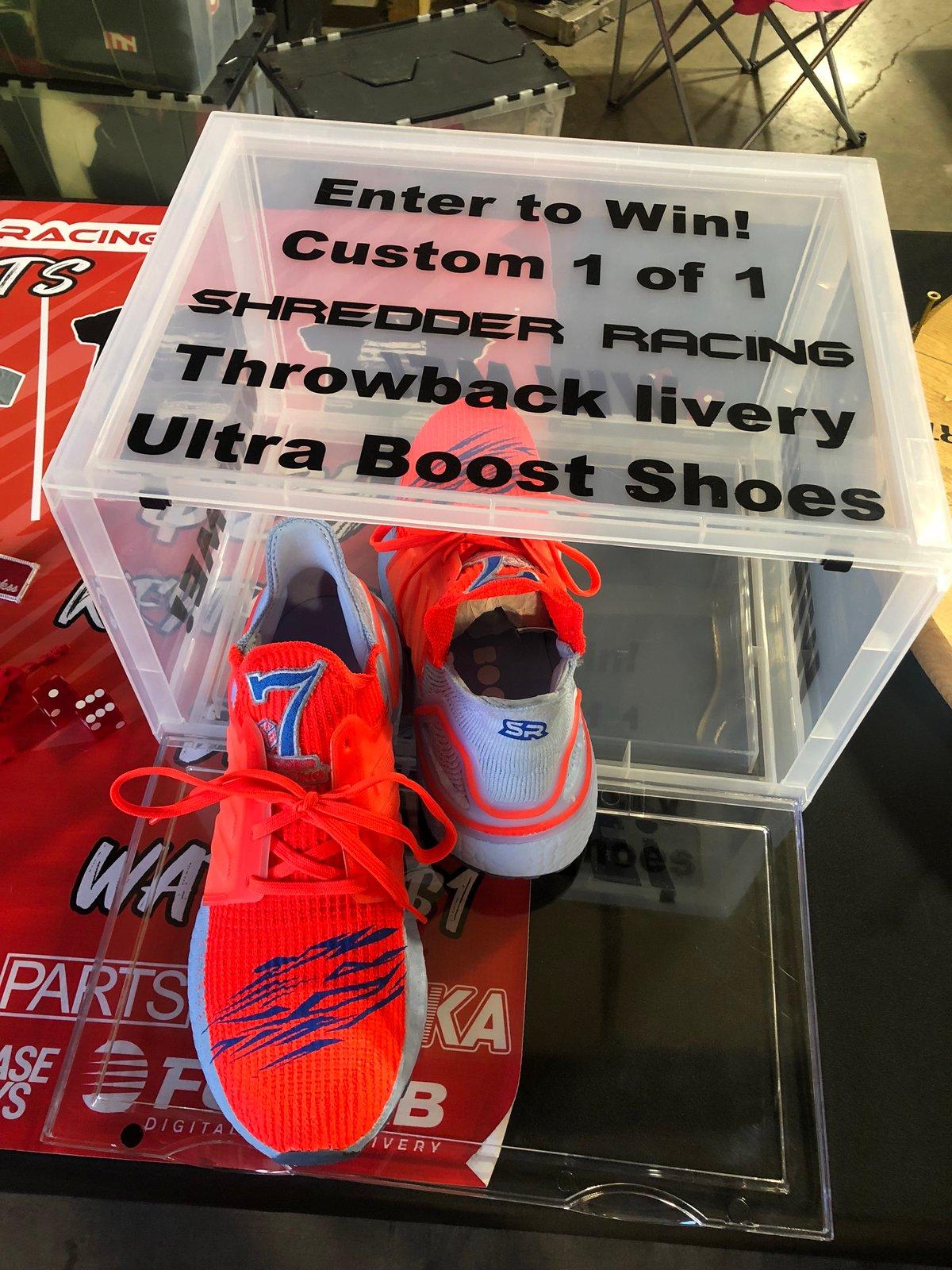 Image of Custom Shredder Racing UltraBoost Sneakers!