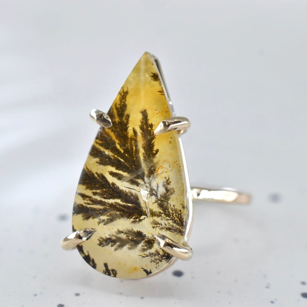 Image of Dendritic Quartz Ring