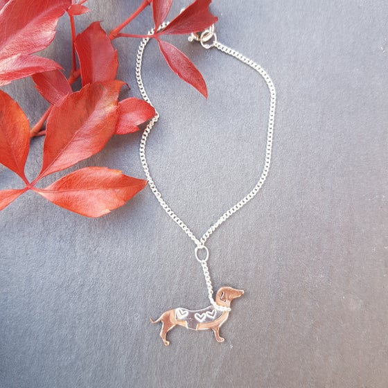 Image of Little Dachshund Bracelet