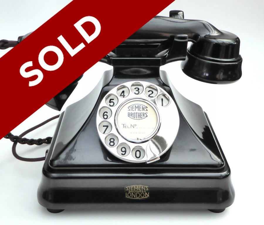 Image of Super Rare No.310 Siemens Table Telephone