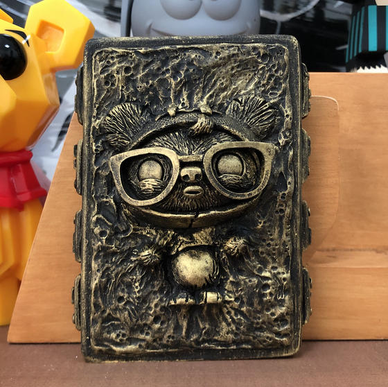 Image of GeekWok in Carbonite - Black and Gold