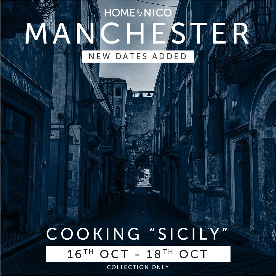 """Image of MANCHESTER- WEEKEND AVAILABILITY """"Sicily"""" Experience for Two"""