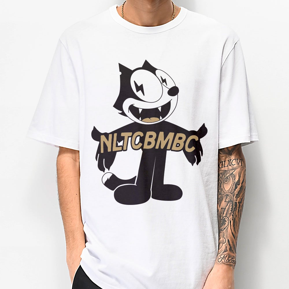 Image of Hype Cat Tee (White)
