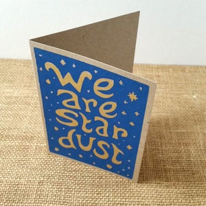 We are star dust