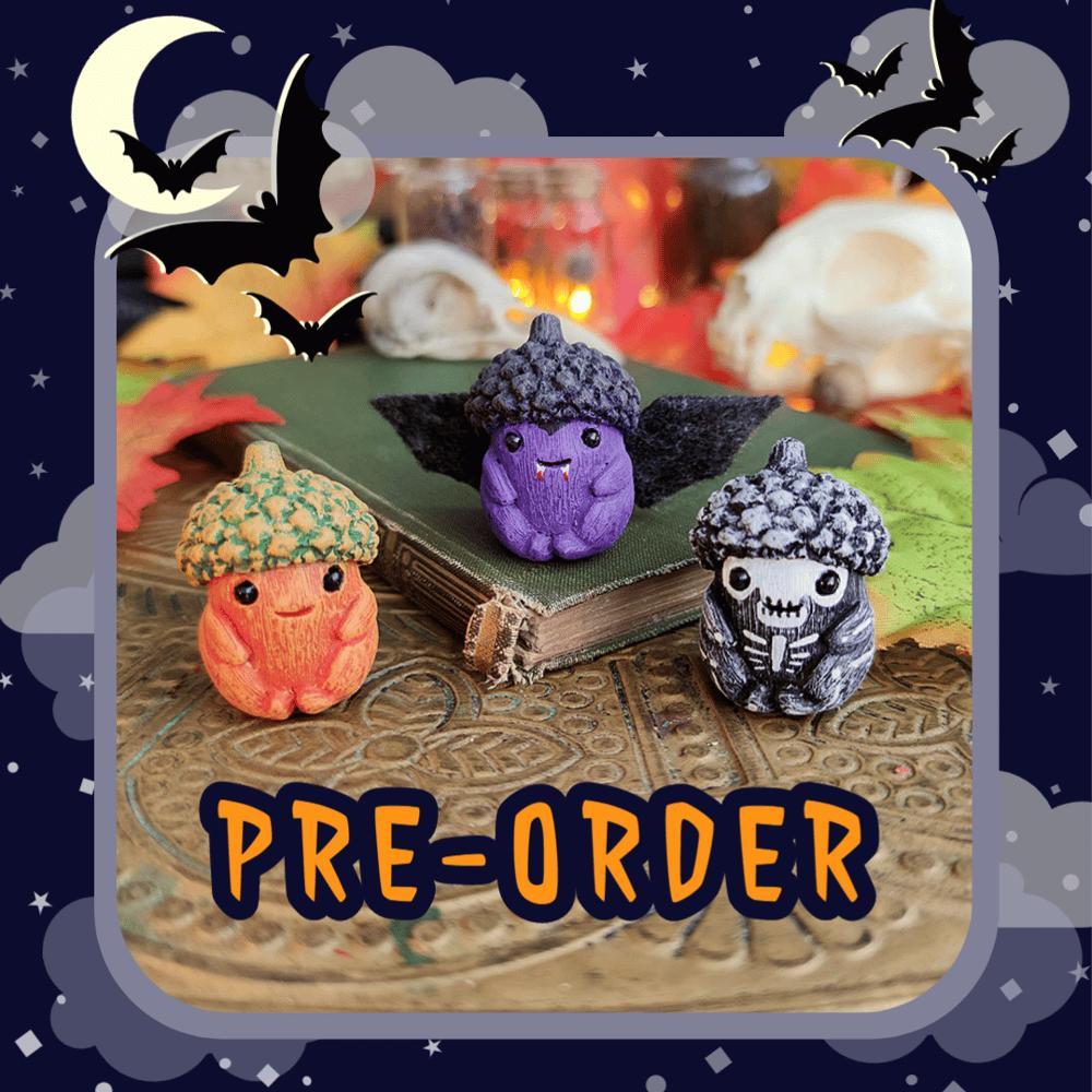 Image of Return of the 2020 Halloween Acorn Babies pre-order