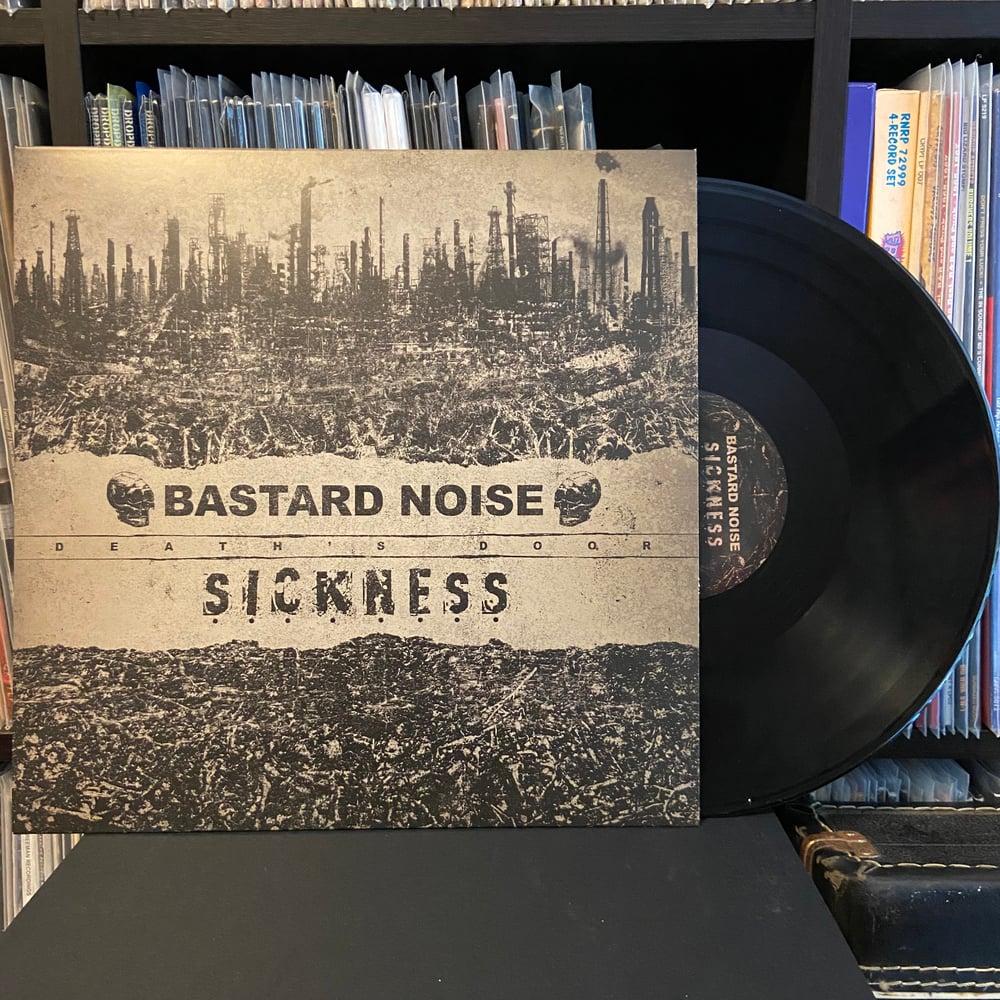 """BASTARD NOISE / SICKNESS """"Death's Door"""" LP"""