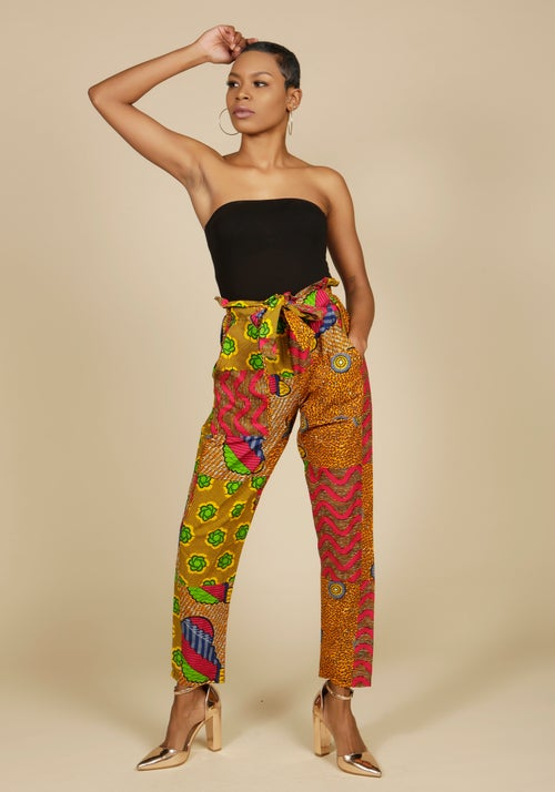 Image of High Waisted Trousers 2