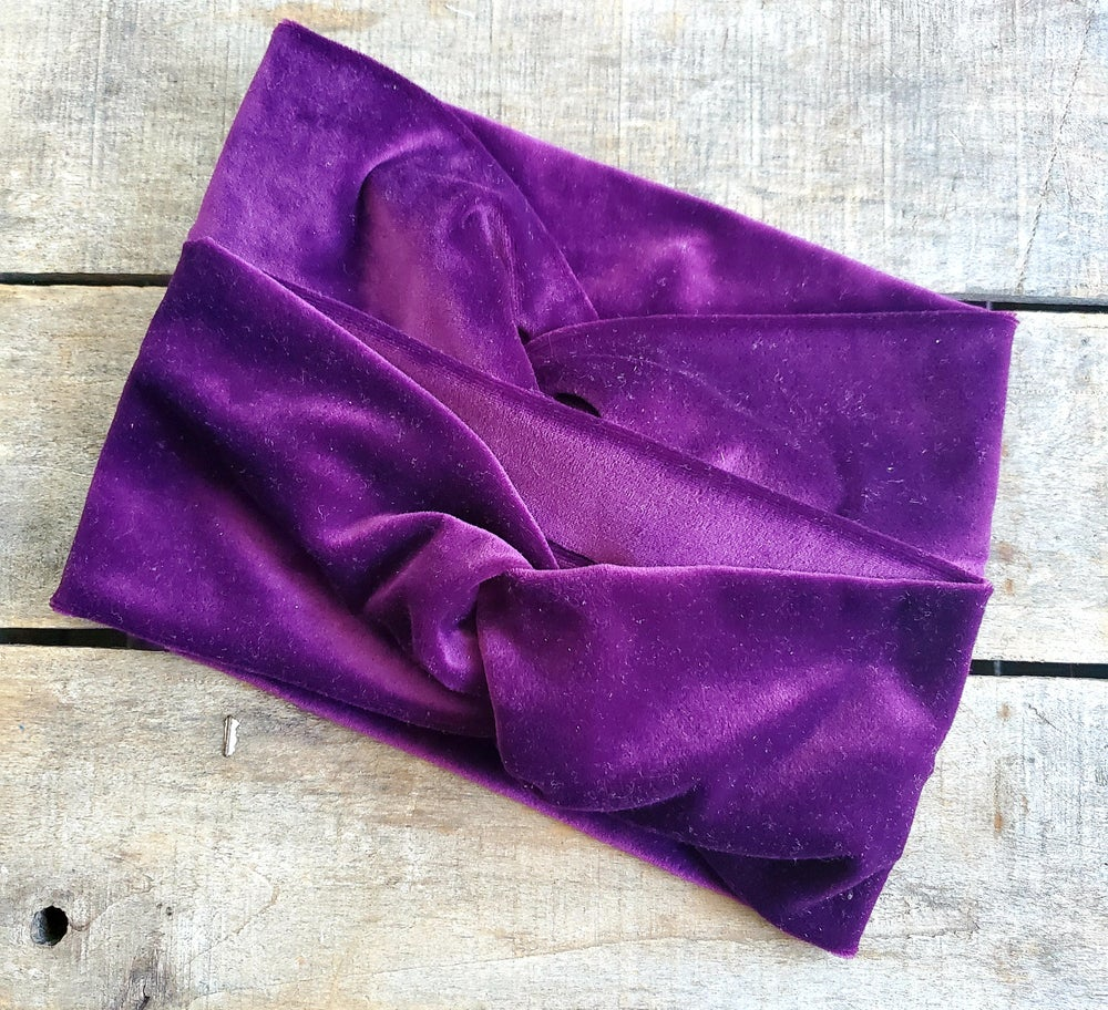 Image of  Lux  Recycled Turban Headbands