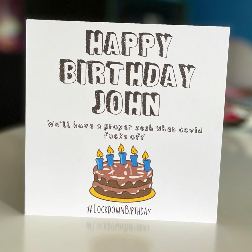 Image of Covid Birthday