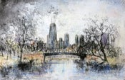 Image of Autumn in Lincoln Park, Chicago, Illinois