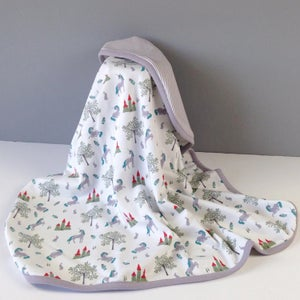 Image of Fairytale Unicorn Organic Cotton Blanket