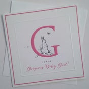 Image of Gorgeous Baby Girl Card