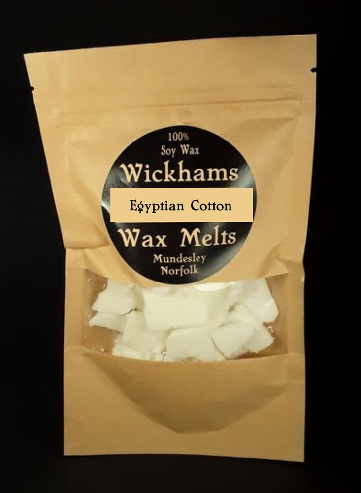 Image of Egyptian Cotton Wax Melt Bag (Vegan/GM free)