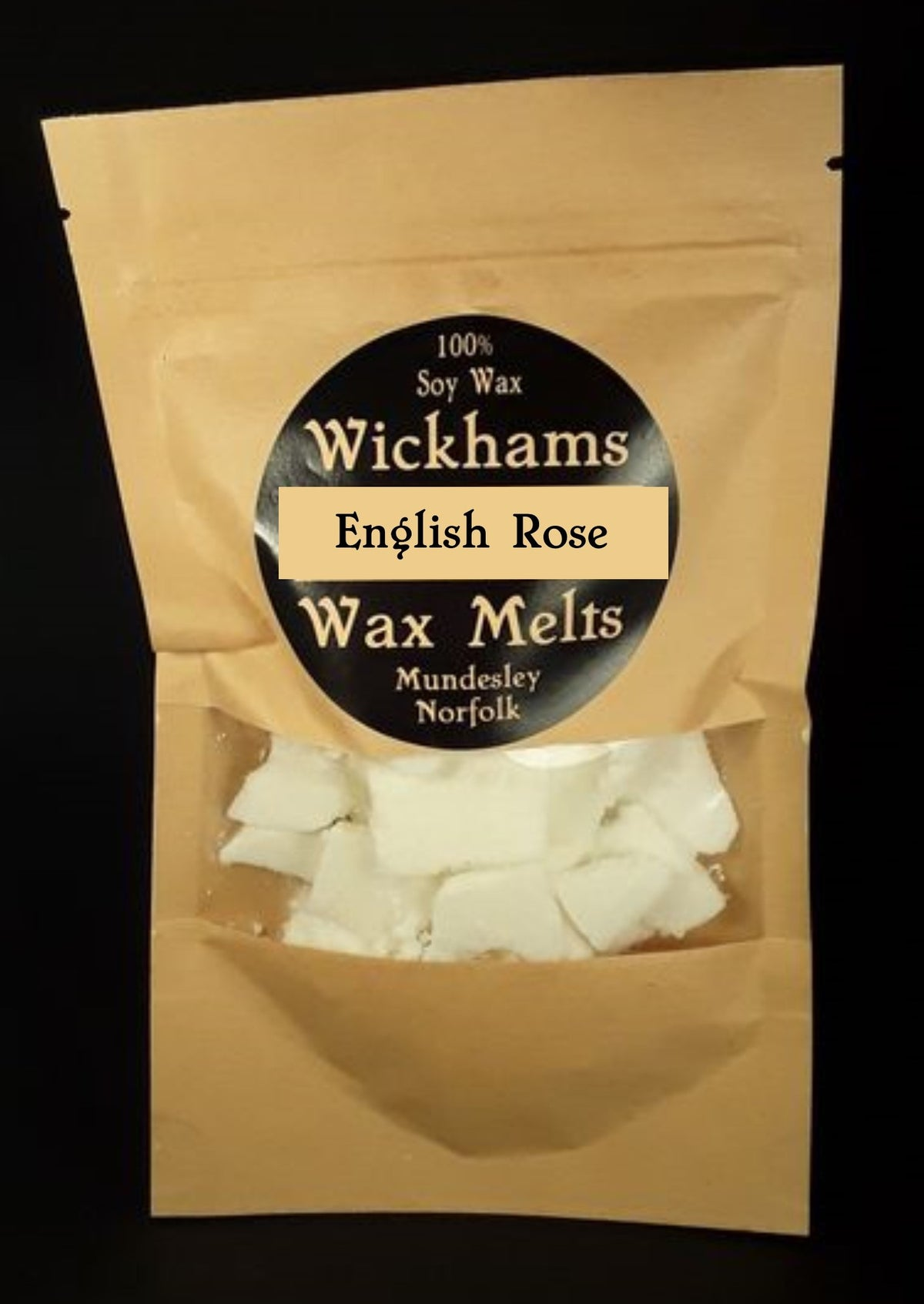 Image of English Rose Wax Melt Bag