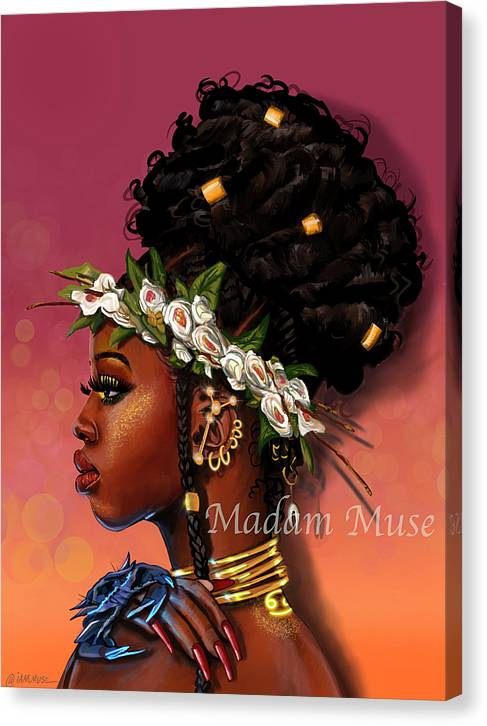 "Image of ""Queen Cancer"" Limited Edition Canvas Prints"