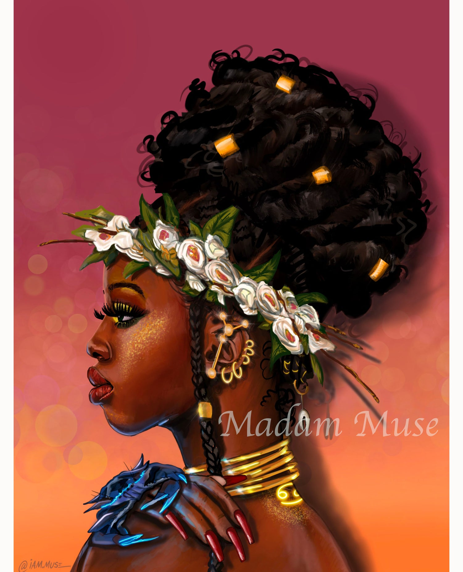 """Image of """"Queen Cancer"""" Limited Edition Prints"""