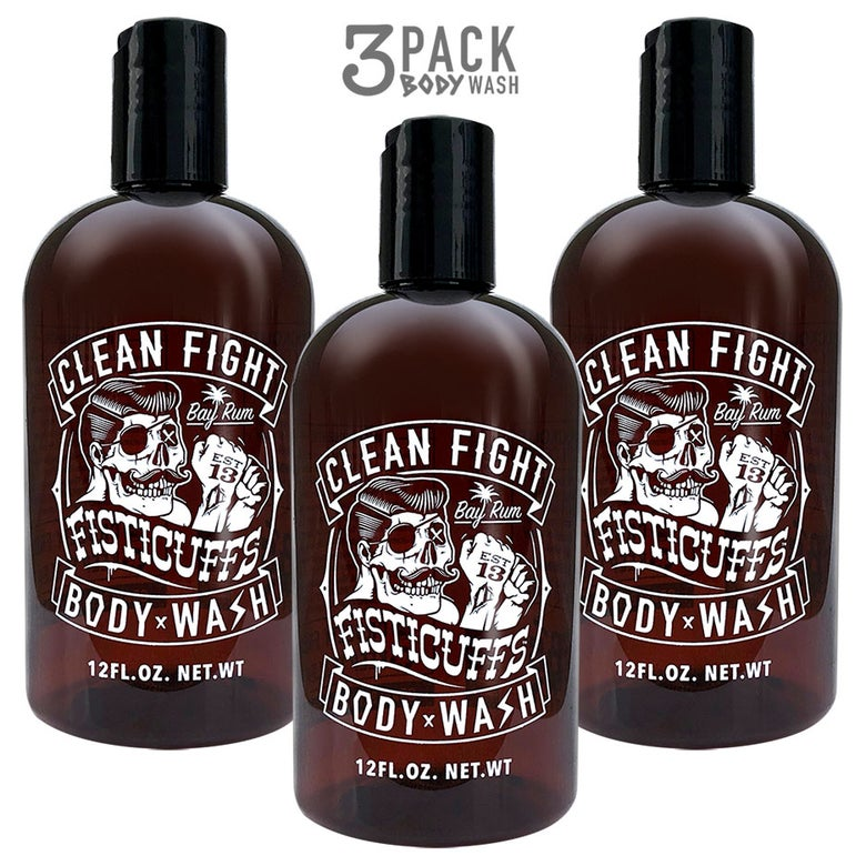 Image of Fisticuffs Body Wash 3 Pack