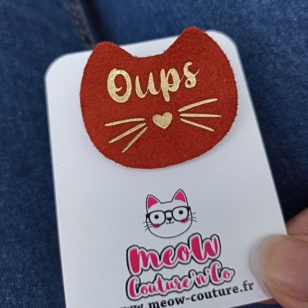 Image of Broche Oups