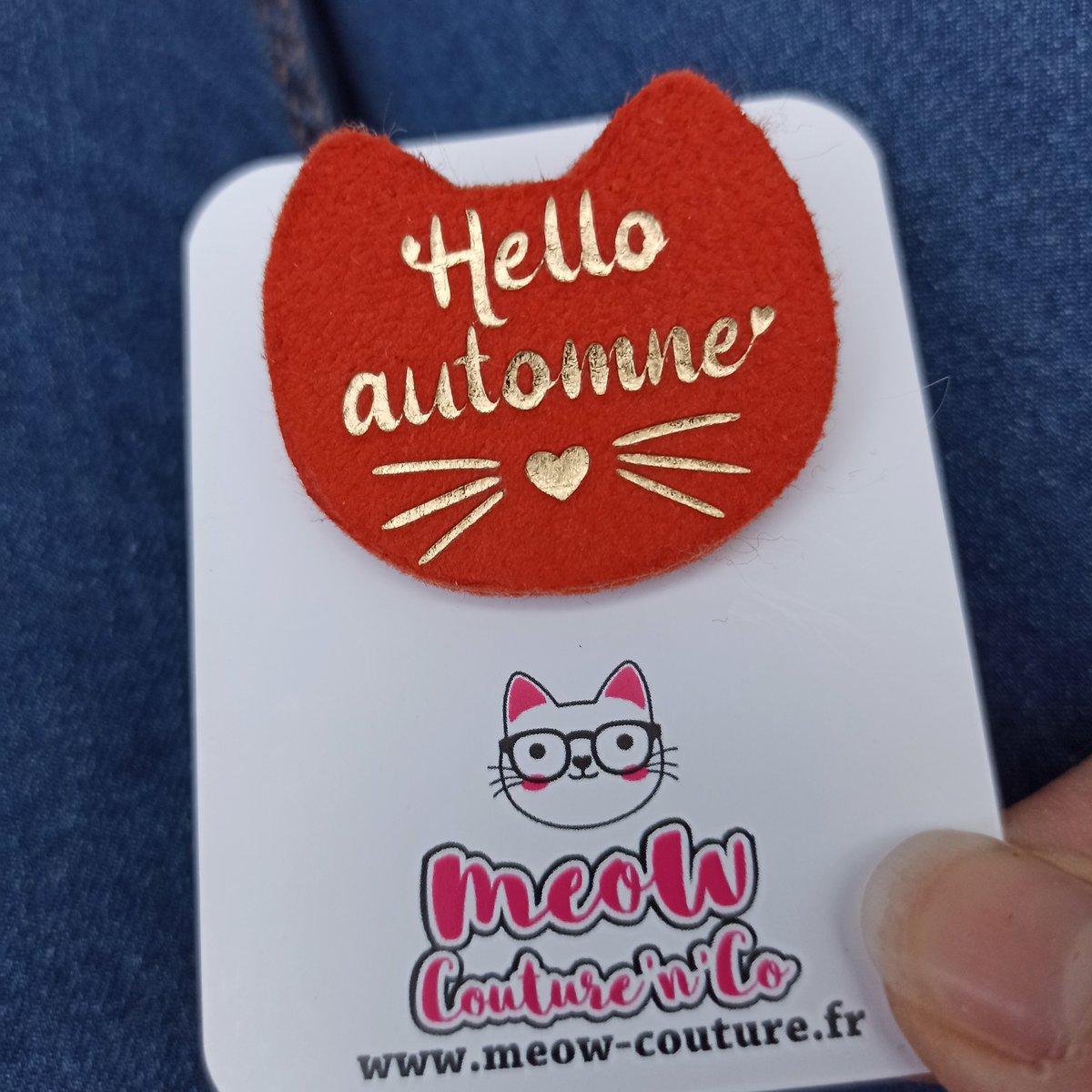 Image of Broche Hello Automne
