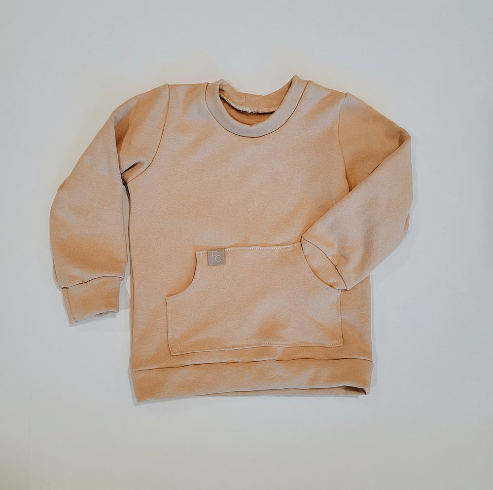 Image of Tan Pullover