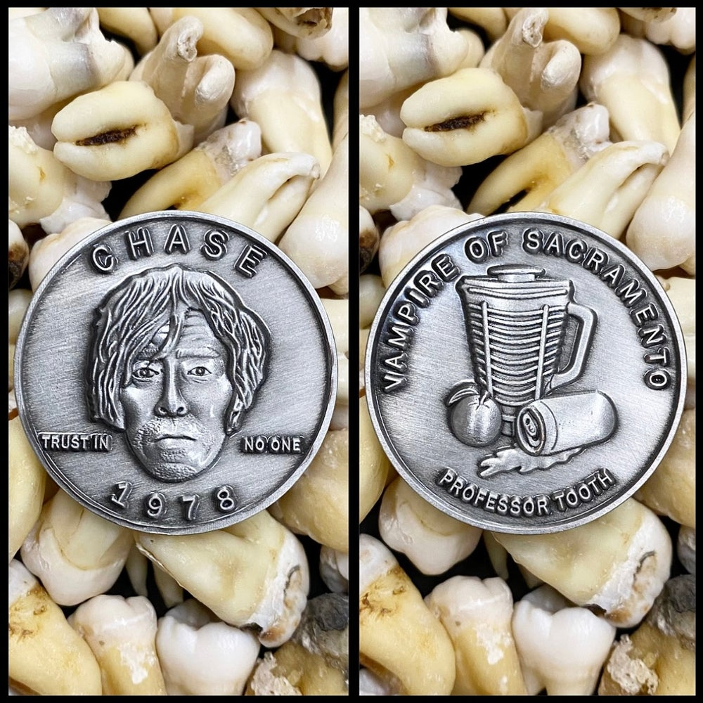 Image of Serial Killer Richard Chase Coin