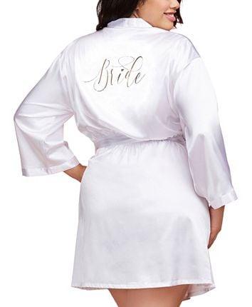 Image of #Bride Satin Robe