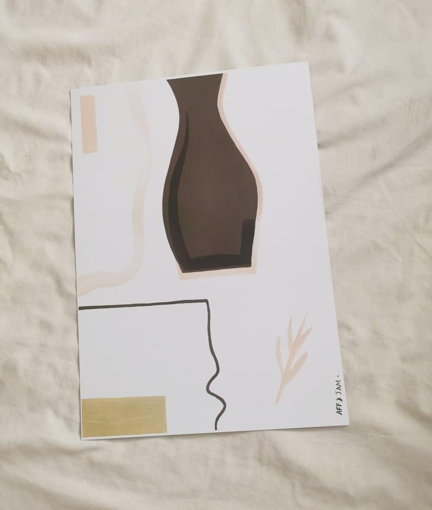 Image of el vaso print