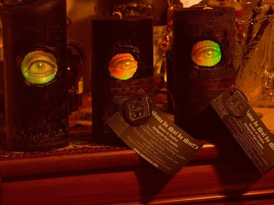 Image of Madame de Mal de Mort's - House of VooDoo- Seeing EYE Candles