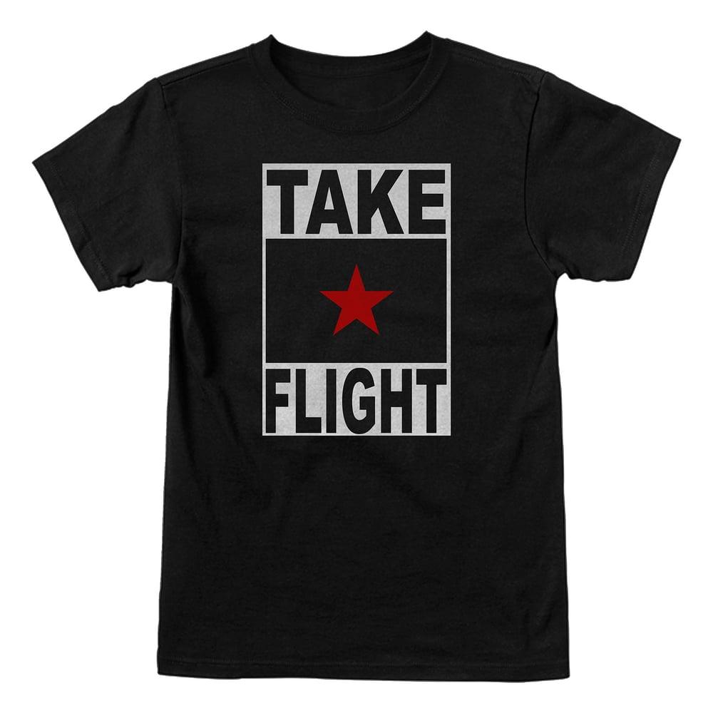 Image of Take Flight Logo (black)
