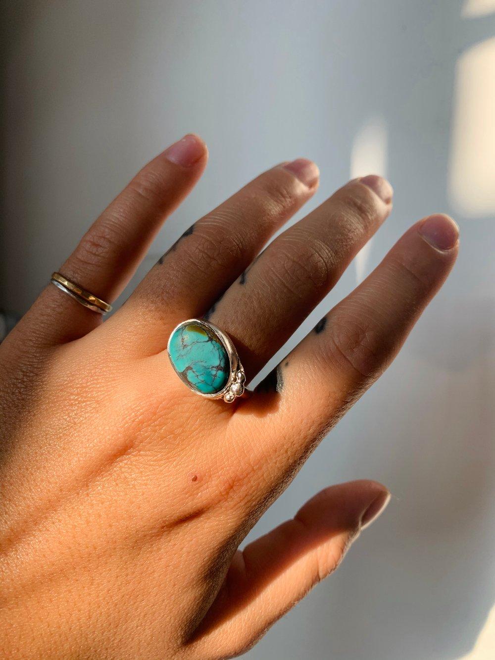 Image of Turquoise Ring II