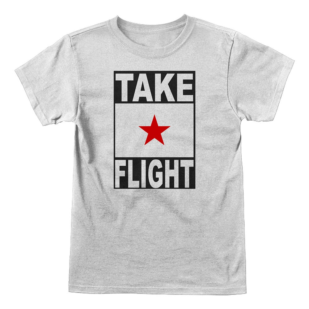 Image of Take Flight Logo (white)
