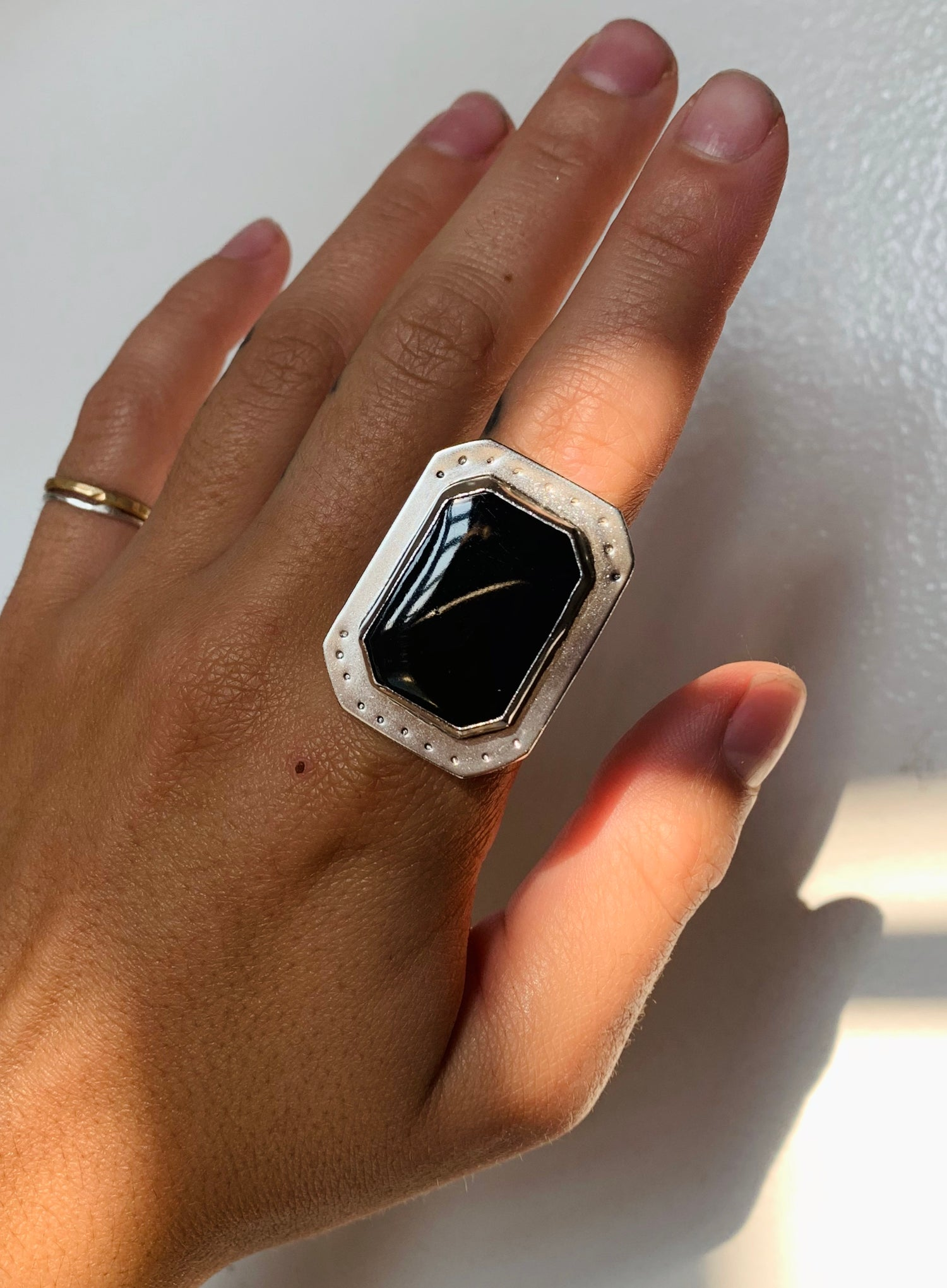 Image of Onyx MGD Ring