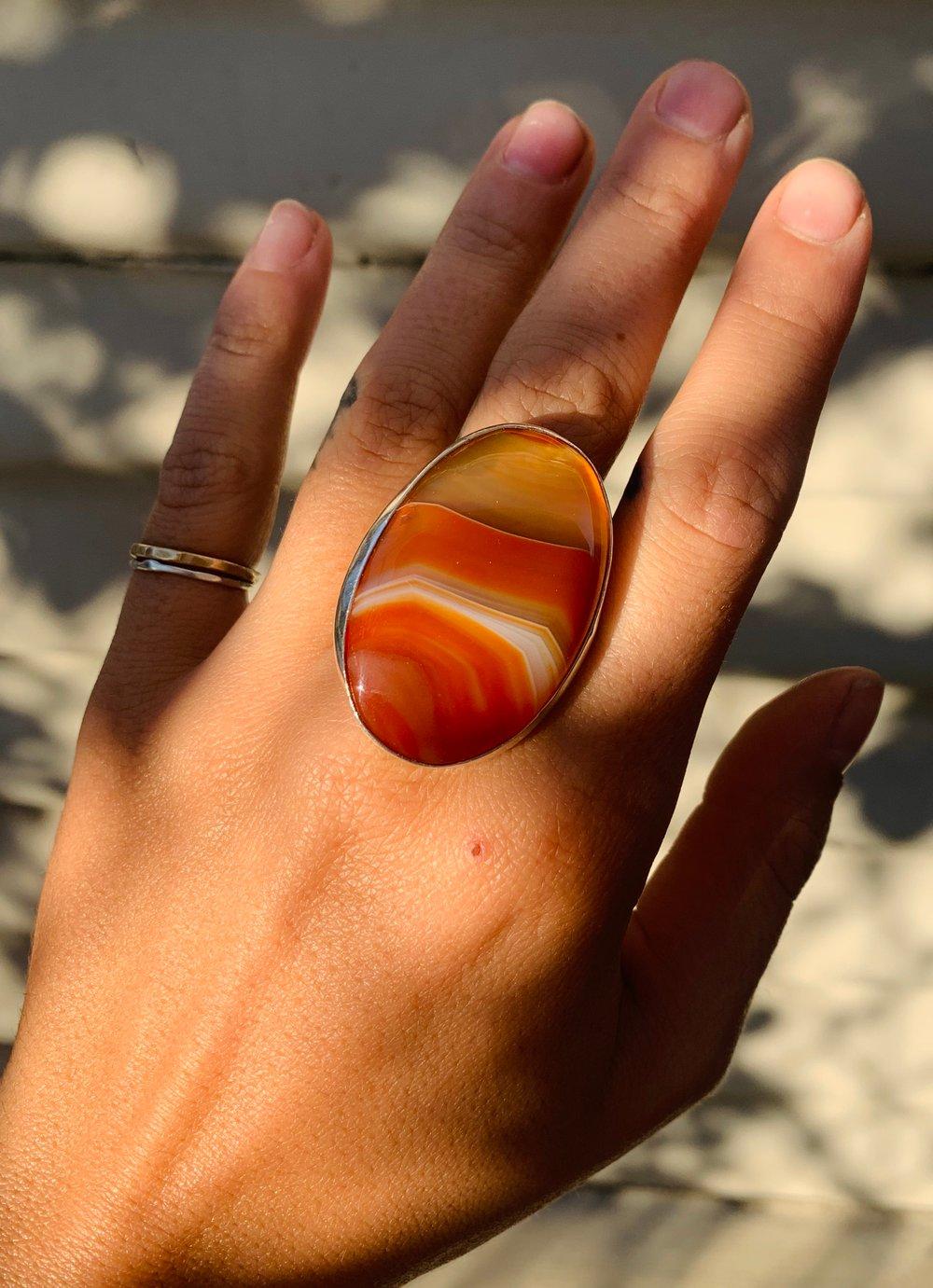 Image of Carnelian Ring II