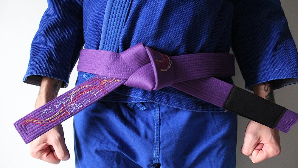Image of DRAGON ドラゴン PURPLE BELT
