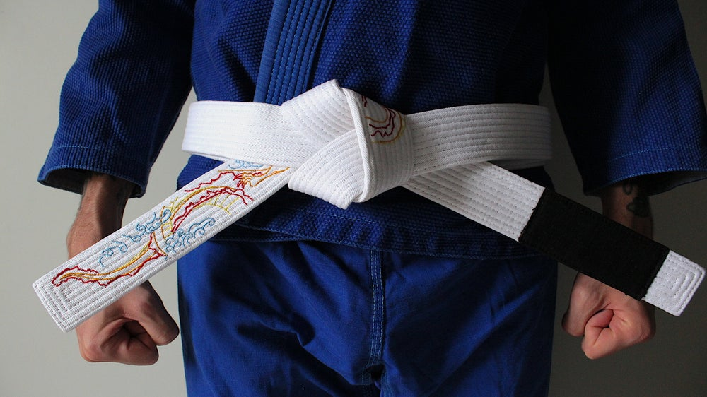 Image of DRAGON ドラゴン WHITE BELT