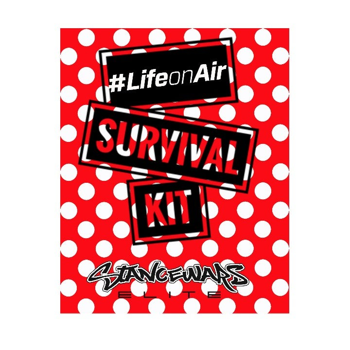 Image of #LifeonAir Survival Kit