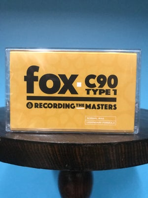 Image of Recording The Masters FOX C90 TYPE 1 Audio Cassettes [Pack of 50]