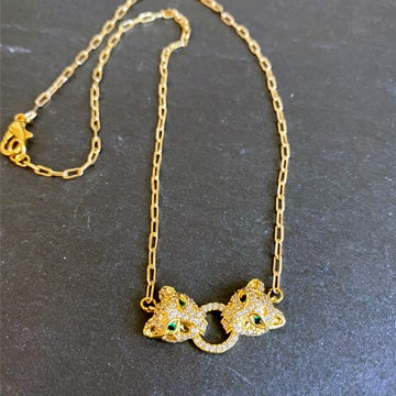 Image of Petite Lions Head Necklace