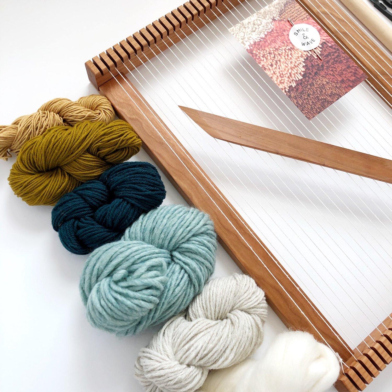 Image of Beginner's Cherry Weaving Kit - Seaspell