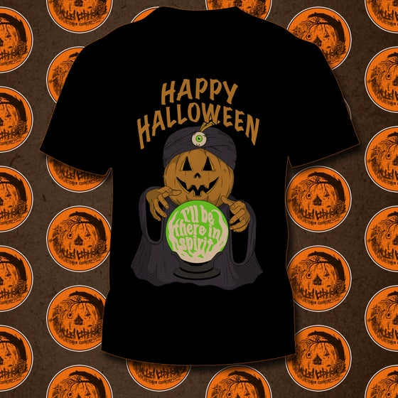 Image of I'll Be There In Spirit Halloween 2020 T-shirt