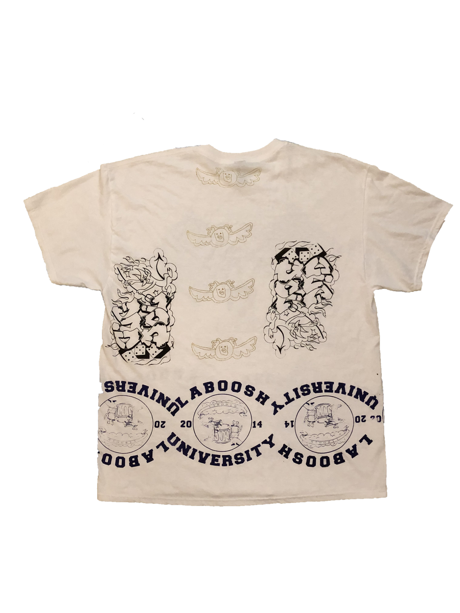 Image of 1/1 White XL laboosh x ceelo champz misprint