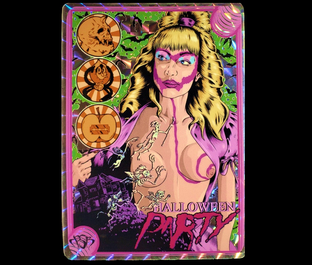 Halloween Party Sticker