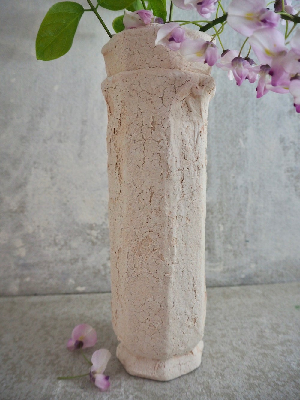 Image of The Salty Sea Air Collection- Column Vase- choose your colour