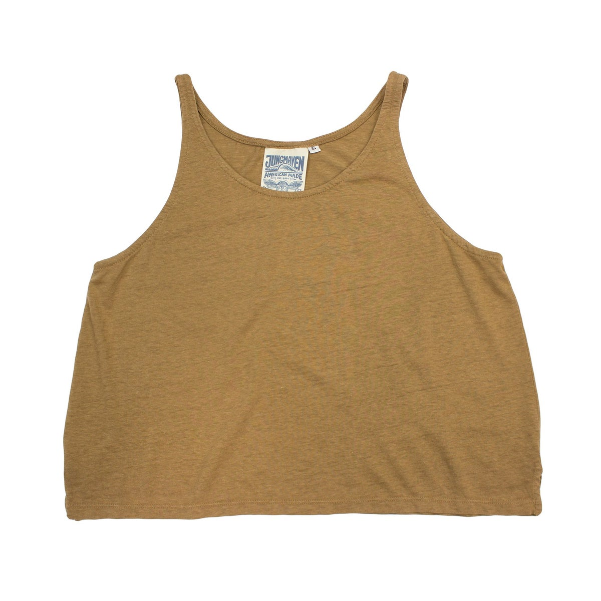 Image of Jungmaven Cropped Tank - Coyote