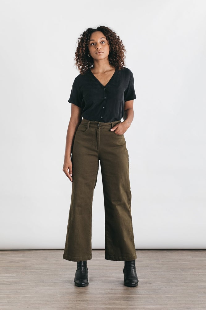 Image of Easton Pant - Olive
