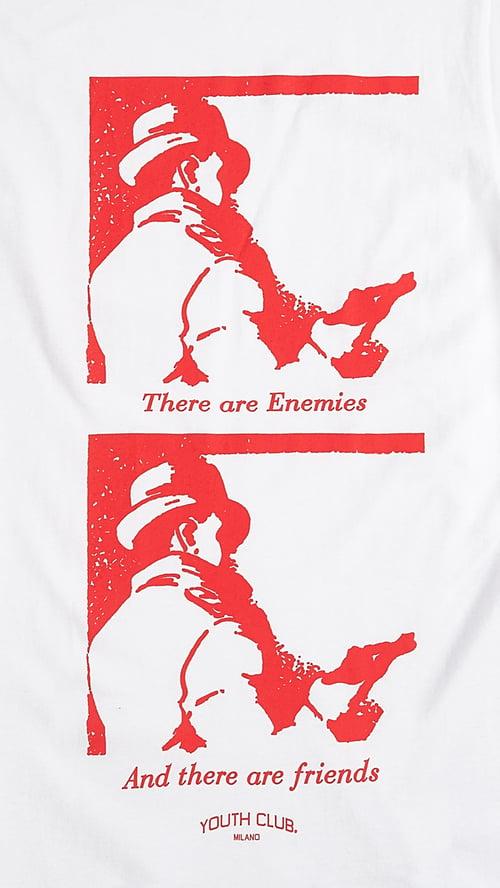 Image of Enemies Tee / White