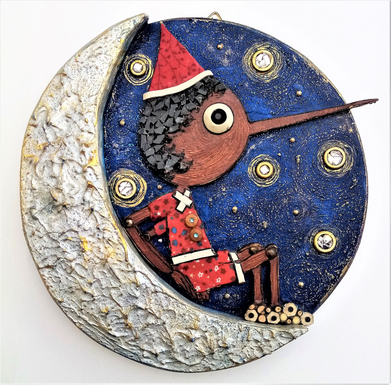 Image of Pinocchio sulla Luna/Pinocchio on the Moon