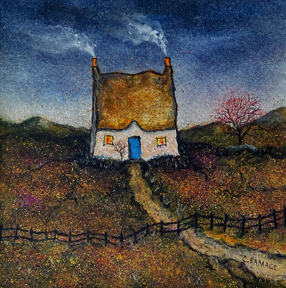 Image of Little Cottage In The Gloaming !!SOLD!!