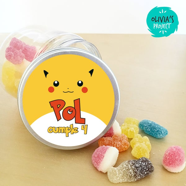 Image of Tarritos Chuches - Pokemon